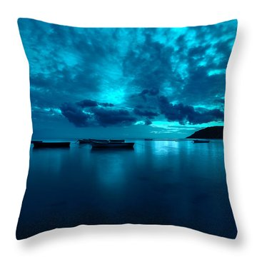 Soon The Night Shall Come Throw Pillow