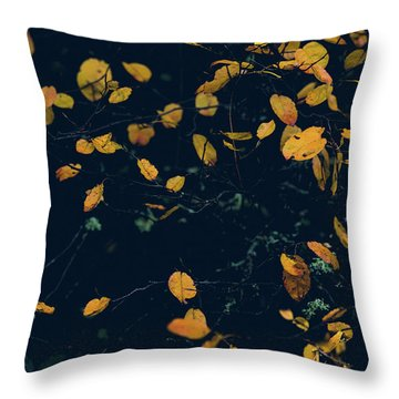 Soon They Fall Throw Pillow