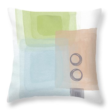 Soothing Harmony 2- Art By Linda Woods Throw Pillow