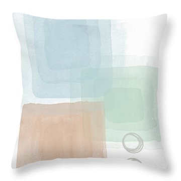 Soothing Peace 2 - Art By Linda Woods Throw Pillow
