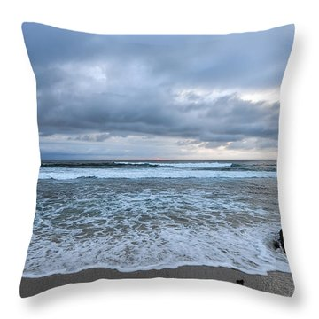 Soothing Tranquility Throw Pillow