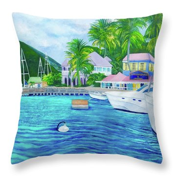 Sopers Hole Throw Pillow