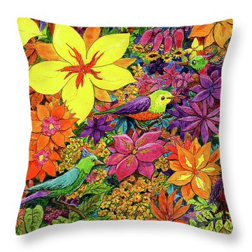 Sophie 7 Throw Pillow by Charles Cater