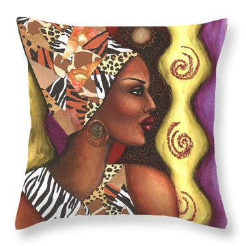Sophisticated Safari Throw Pillow