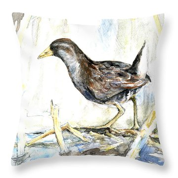 Sora Throw Pillow