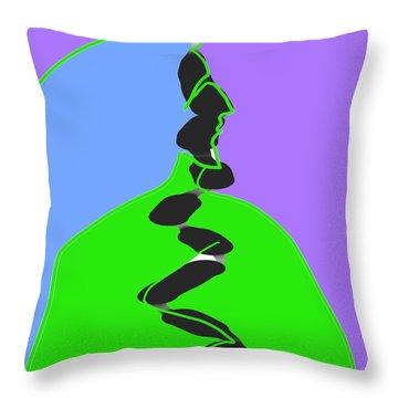 Sorcerer 2 Throw Pillow
