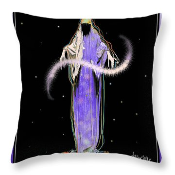 Sorciere  Throw Pillow
