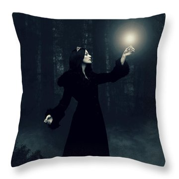 Sorcery Throw Pillow