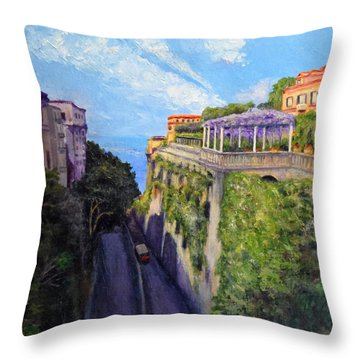 Sorrento Mio Throw Pillow