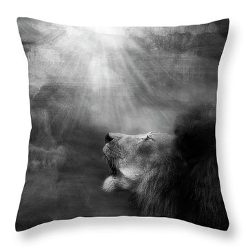Sorrow's Call Throw Pillow
