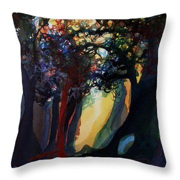 Sorting With Reality Throw Pillow