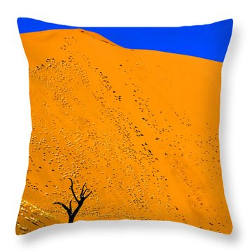 Sossusvlei Tree Throw Pillow