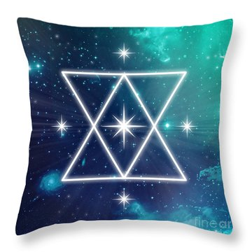 Soul Awakening Throw Pillow