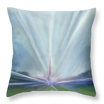 Soul Blastoff Throw Pillow