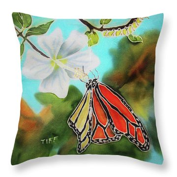 Soul Changes Throw Pillow