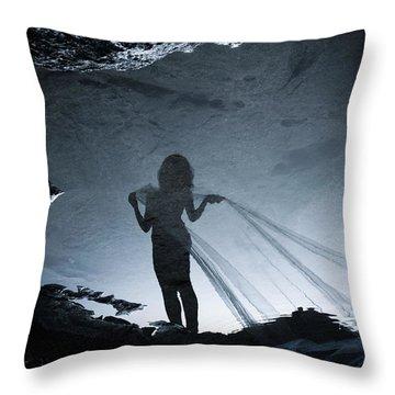 Soul Hunter Throw Pillow