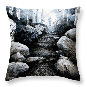 Soul Journey Throw Pillow