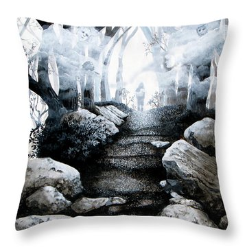 Soul Journey Throw Pillow