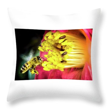 Soul Of Life Throw Pillow by Karen Wiles