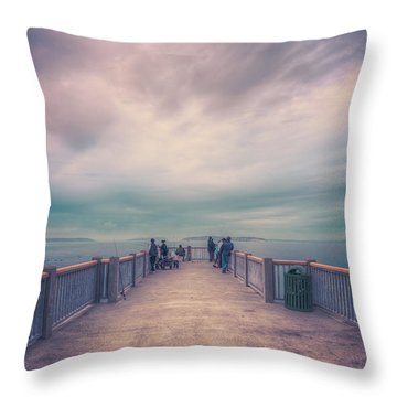 Soul Power Throw Pillow by Spencer McDonald