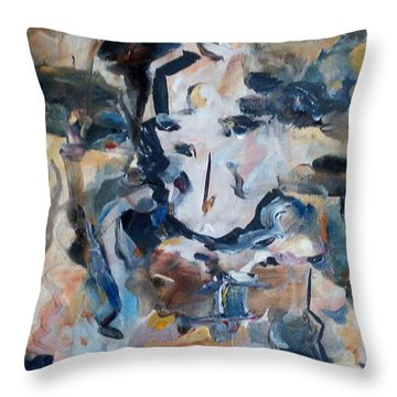 Soul Search Throw Pillow