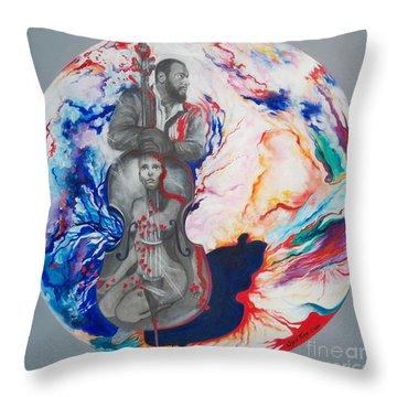Blaa Kattproduksjoner             Soul Seduction Throw Pillow