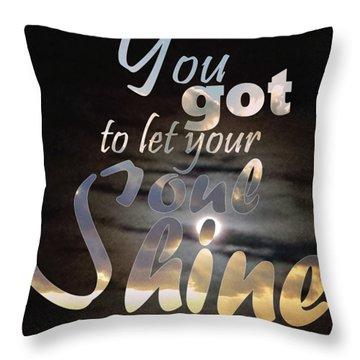 Soul Shine Throw Pillow