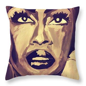 Soul Sister  Throw Pillow by Miriam Moran