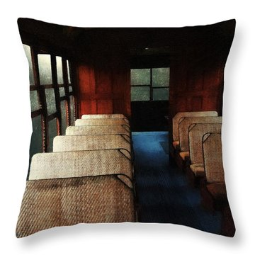 Soul Train Throw Pillow