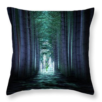 Soul Tree Throw Pillow by Svetlana Sewell