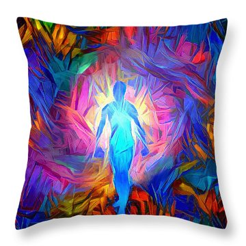 Soul Tunnel Throw Pillow