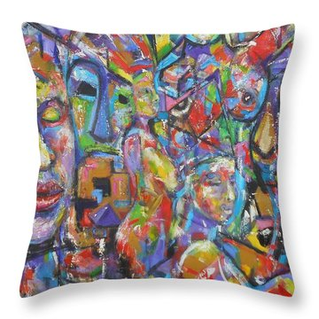 Soulful Elevation Throw Pillow