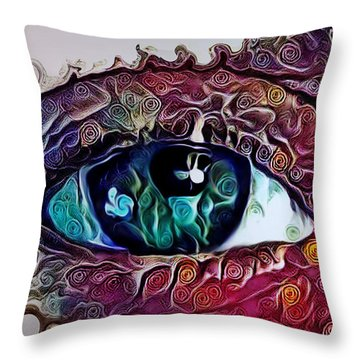 Souls Window Throw Pillow