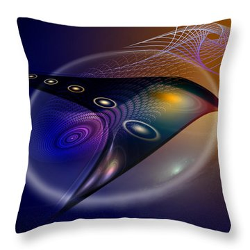 Soulscape 23 Throw Pillow