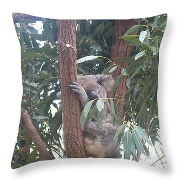 Sound As A Tree Throw Pillow