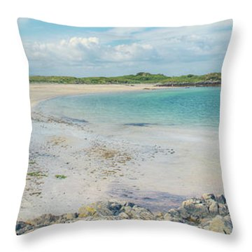 Sound Of Arisaig Throw Pillow