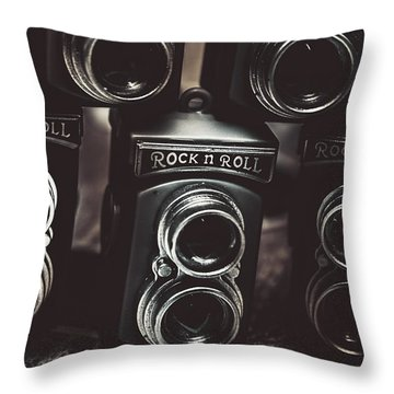 Sound Of Creative Photos Throw Pillow