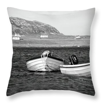 Sound Of Iona Throw Pillow by Ray Devlin