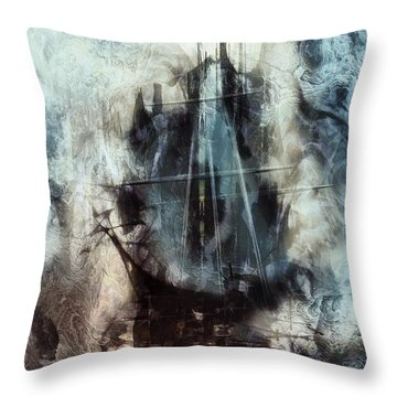 Sound Of Silence IIi Throw Pillow