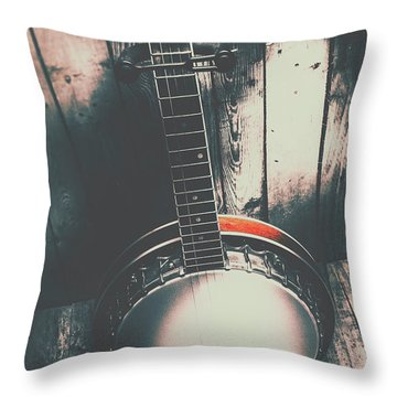 Sound Of The West Throw Pillow