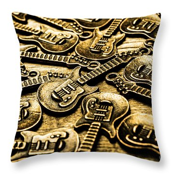 Sounds Of Country And Western Music Throw Pillow