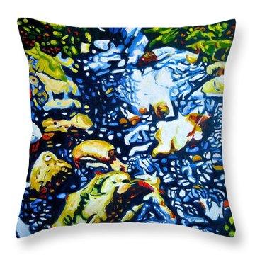 Sourcce Throw Pillow