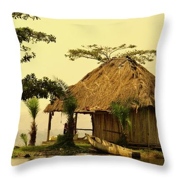 Source Of The Nile Throw Pillow