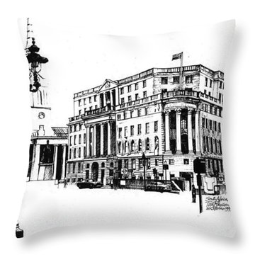 South Africa House Throw Pillow