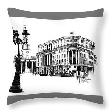 South Africa House Throw Pillow by Tim Johnson