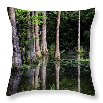 Swamp Thing Throw Pillows