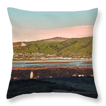South Bay With Stanford Throw Pillow
