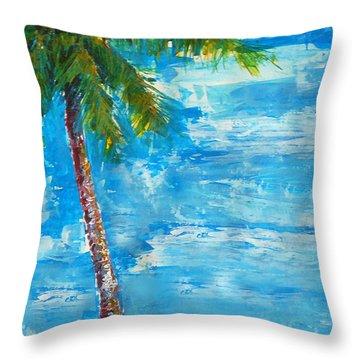 South Beach Wall Throw Pillow