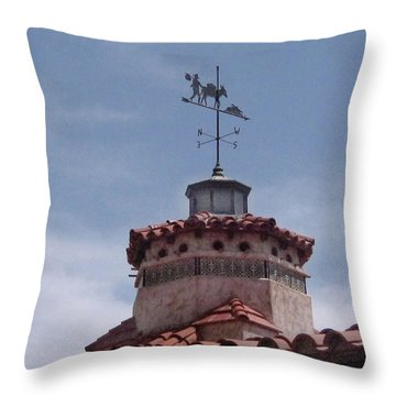 South By Southwest - Death Valley Throw Pillow