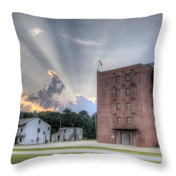 South Carolina Fire Academy Tower Throw Pillow by Dustin K Ryan